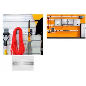 Алюминиевый рельс для системы крепления крюков 620 мм HR32