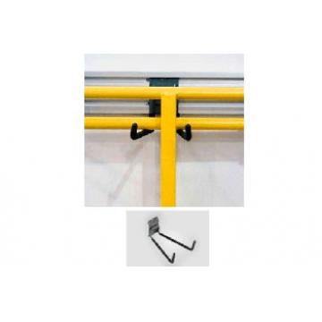 Короткий прочный крюк для хранения триммеров