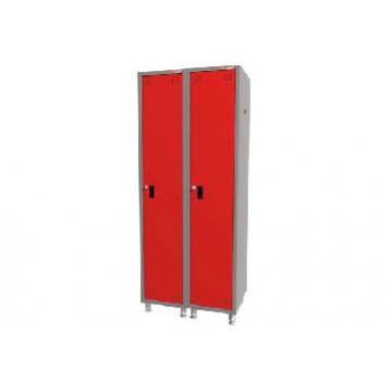 Шкаф металлический для одежды 2-секционный 03.121