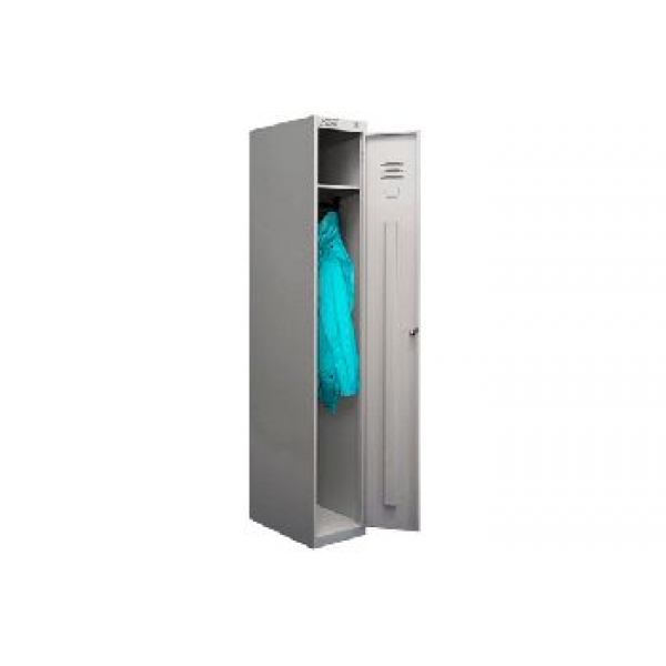 Металлический шкаф односекционный для одежды ШРС-11-300