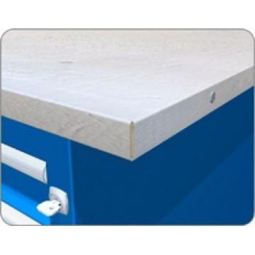Столешница для верстака оцинкованная – 26,5 мм