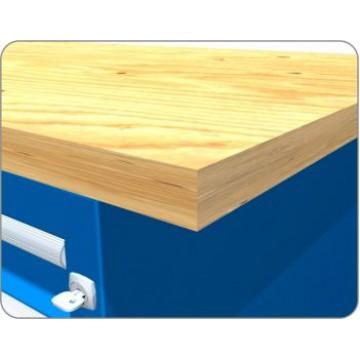 Столешницы из деревянного массива для верстака 30 мм