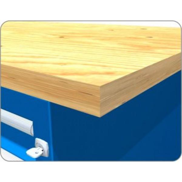 Столешницы из деревянного массива для верстака 40 мм