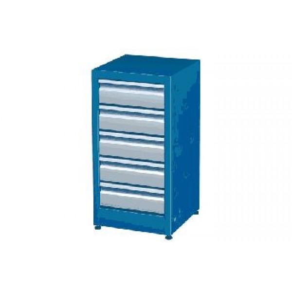 Инструментальная тумба для гаража с 5 ящиками М1-405