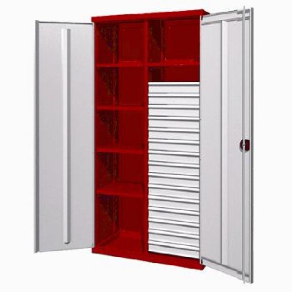 Инструментальный шкаф с 15 ящиками и 5 полками 03.3155