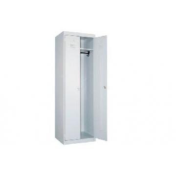 Сварной металлический шкаф для одежды