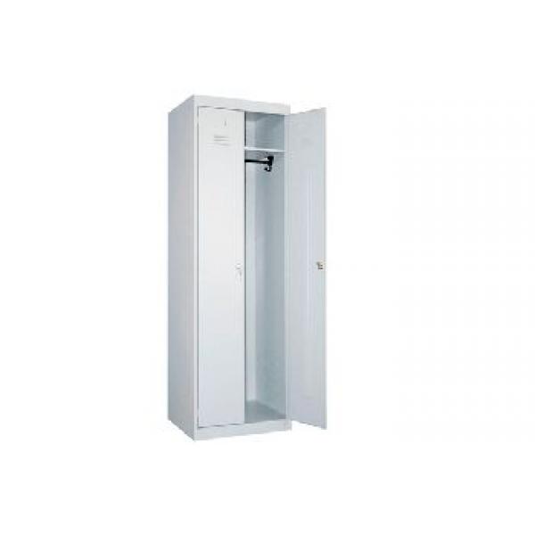 Сварной металлический шкаф для одежды ШР-22-600