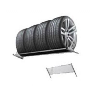 Полки для хранения шин в гараже