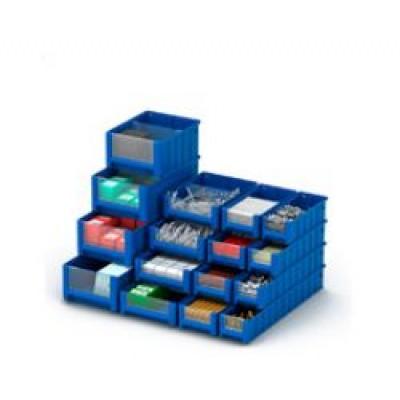 Пластиковые ящики для гаража