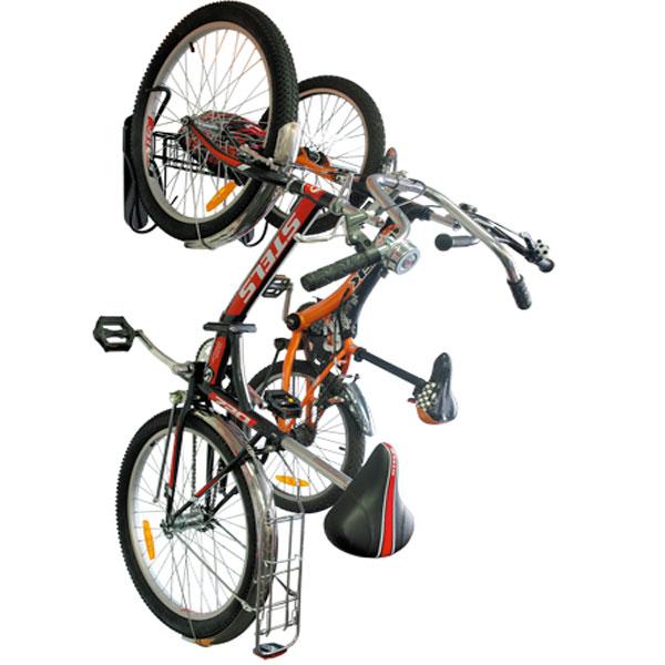 Система вертикального хранения двух велосипедов RC 1824