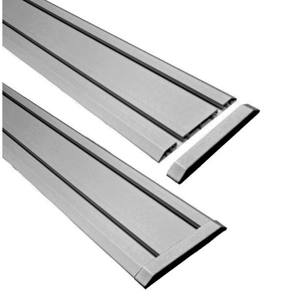 Заглушки для направляющих TR150EC-G серые