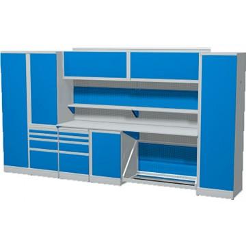 Комплект мебели для гаража длинной 4230 мм.