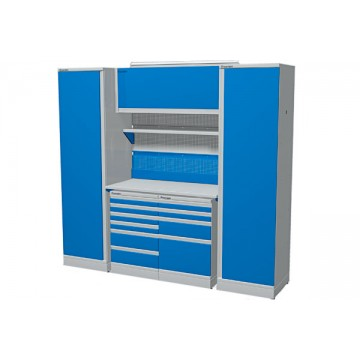 Комплект мебели для гаража со шкафами