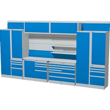 Комплект мебели для гаража длинной 4830 мм.