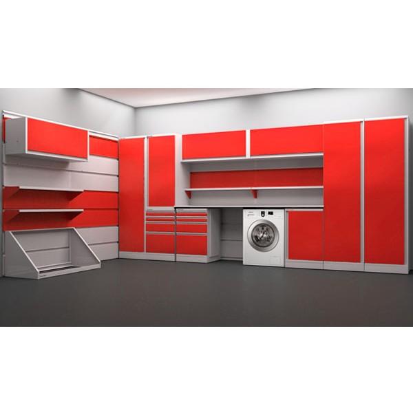 Готовый комплект мебели в гараж TG8-38