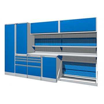 Комплект мебели для гаража длинной 3630 мм.