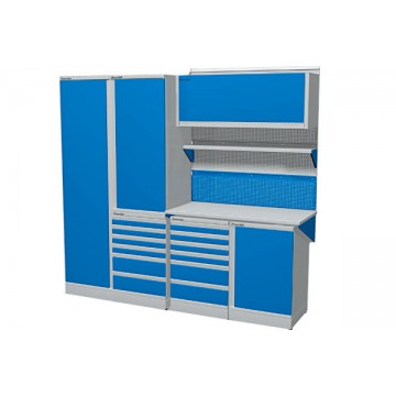 Комплект мебели для гаража длиной 2415 мм.