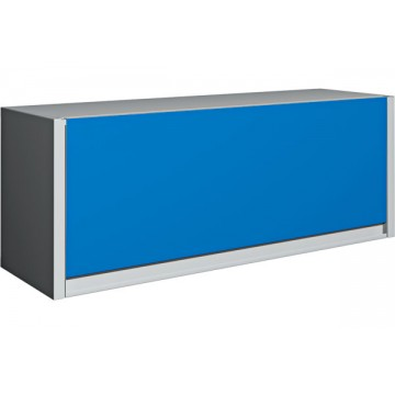 Шкаф металлический  с полкой навесной