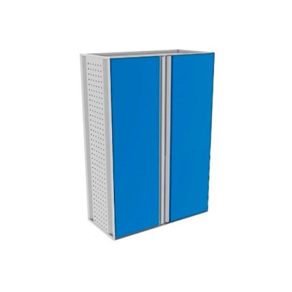 Двухсекционный шкаф с полками 15-01