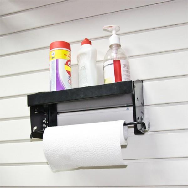 GH38 полка для бытовой химии с держателем бумажного полотенца