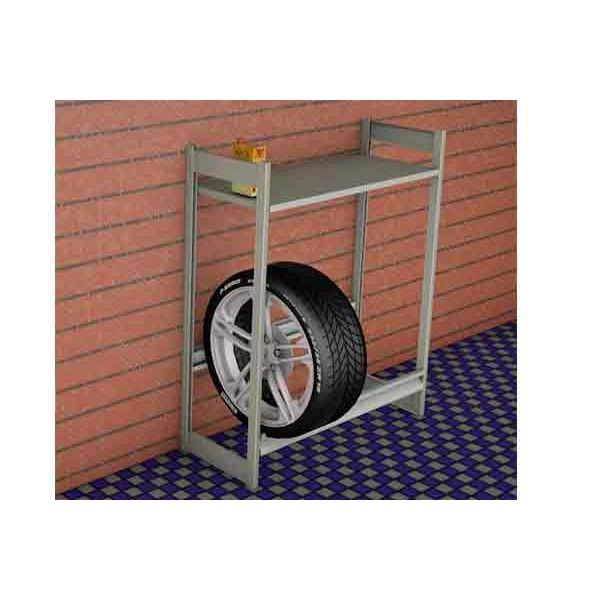 Стеллаж для колес 1200х500х1500 (1 яруса и 1 полка) SK12151