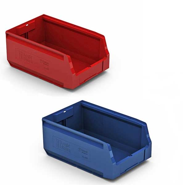 Пластиковый ящик 350х225х150