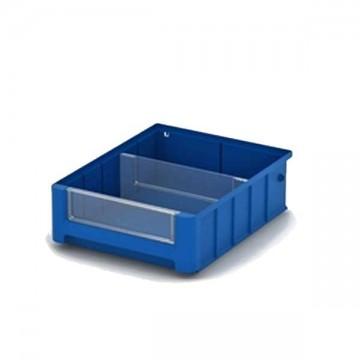 Складские пластиковые ящики 300х234х90 мм.