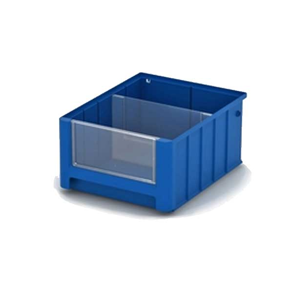 Ящик стеллажный пластиковый 300х234х140