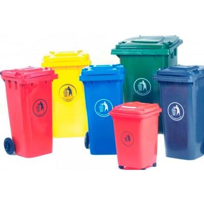Пластиковые мусорные контейнеры и баки