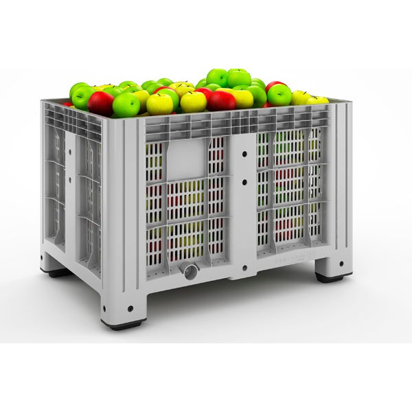 Перфорированный контейнер iBox 11.602.91.PE.C9 на 2-х лыжах