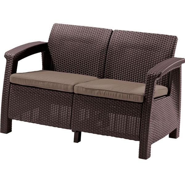 Пластиковый диван CORFU LOVE SEAT