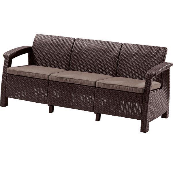 Пластиковый диван CORFU LOVE SEAT MAX
