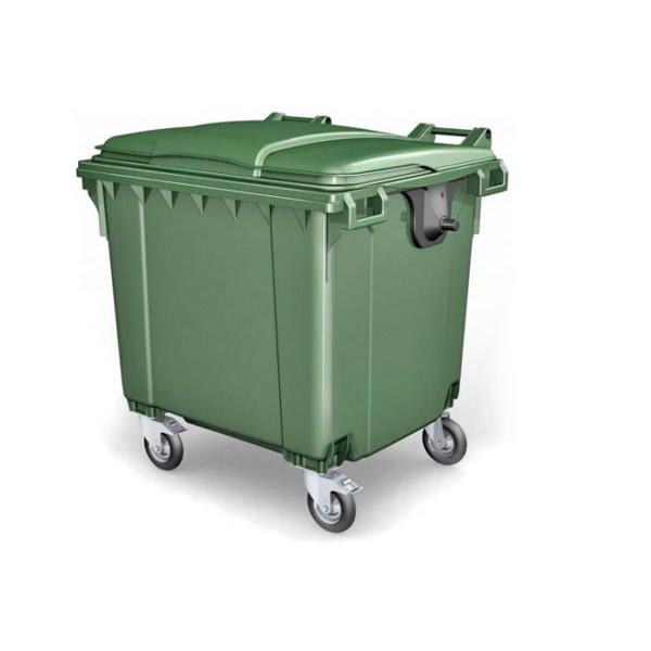 Евроконтейнер для мусора 1,1м3 - мусорный контейнер 1100 л