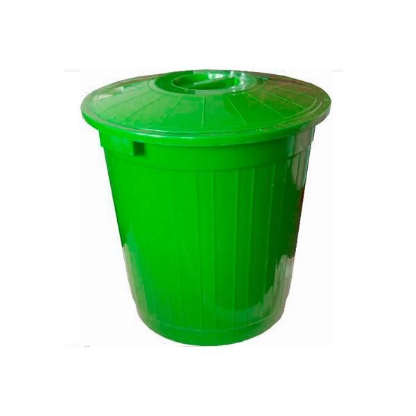 Пластиковый мусорный бак 75 литров