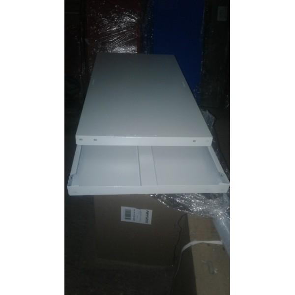 Полка металлическая для стеллажа СТФ 1000х500 мм