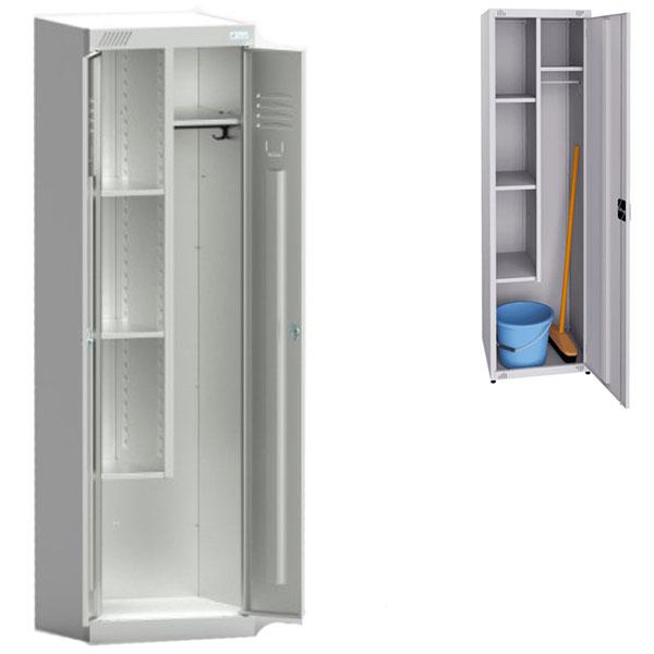 Металлический шкаф хозяйственный ШМУ 22-530
