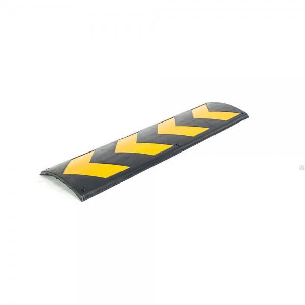 Настенная резиновая панель со светоотражателями для защиты дверей автомобиля