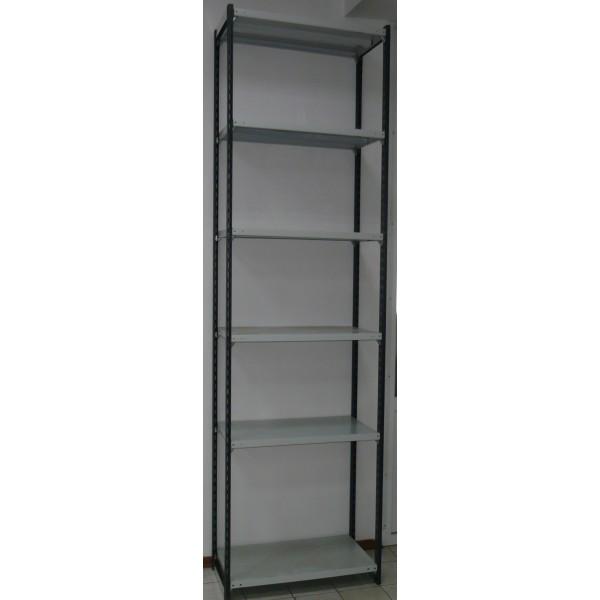 Быстросборный стеллаж со стойками Феррум 270х76х50 см 6 полок 150 кг/п нагрузка 1800 кг
