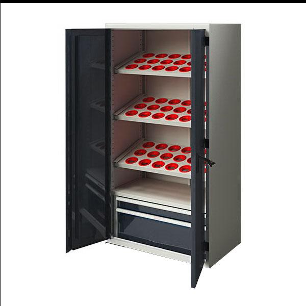Шкаф усиленный для ЧПУ  высотой 1950 мм 43.10201(54-HSK100)