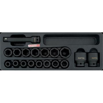 """Ложемент набор головок ударных 1/2"""" 10-32 мм GCAT1807"""