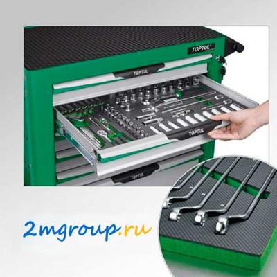 Инструменты в ложементах