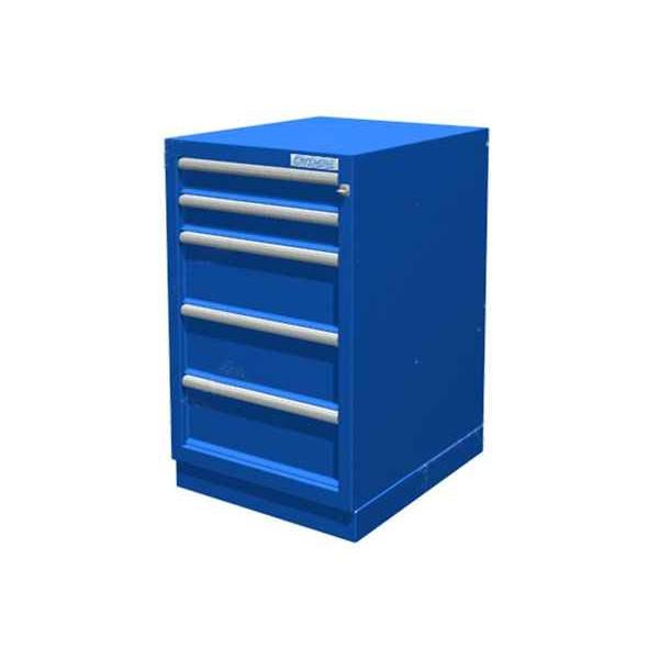Металлическая тумба с 5 ящиками для инструмента 01.405R