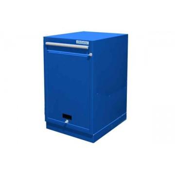 Металлическая тумба инструментальная с дверцей и ящиком