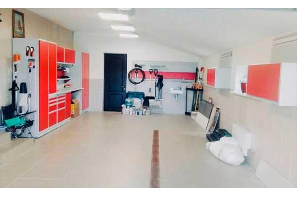 обустройство гаража 5 на 7 метра
